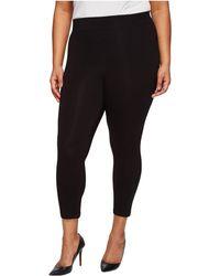 Hue - Plus Size Temp Control Cotton Capris (black) Women's Capri - Lyst