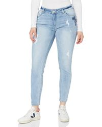 FIND Slim Fit Mid Rise Jeans - Blue