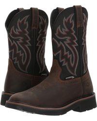 2856e333ed7 Rancher Steel Toe Wp Wellington - Black