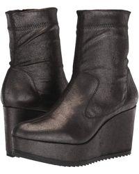 Pedro Garcia - Urika (anthracite Powder Stretch Suede) Women's Zip Boots - Lyst