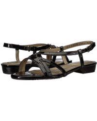 Soft Style - Maisy (turkish Sea Patent) Women's Dress Sandals - Lyst
