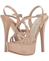 Chinese Laundry - Teaser (nude Patent) High Heels - Lyst