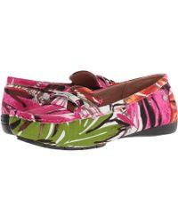 LifeStride - Viva (red Multi) Women's Slip On Shoes - Lyst