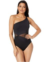 3ae21a591d MICHAEL Michael Kors - Urban Gypsy One-piece (new Navy) Women s Swimsuits  One
