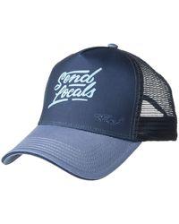 Prana La Viva Trucker Hat - Blue
