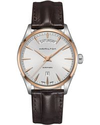 Hamilton - Jazzmaster Day Date - H42525551 (silver) Watches - Lyst