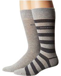 BOSS - Block Stripe 2-pack (charcoal) Men's Underwear - Lyst