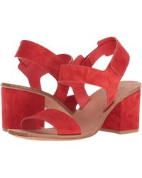 Via Spiga - Kamille (poppy Red Suede) Women's Shoes - Lyst