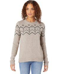 Tentree - Highline Wool Intarsia Sweater - Lyst