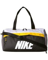 42c6987285 Nike - Radiate Training Graphic Club Bag (gun Smoke amarillo white) Duffel