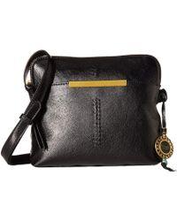 The Sak Encina Crossbody Camera Bag By Collective (black Onyx Craft) Cross Body Handbags