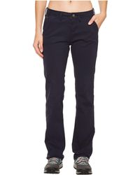 Mountain Khakis - Camber 105 Pants Classic Fit (navy) Women's Casual Pants - Lyst