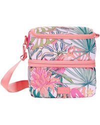 Vera Bradley Reactive Expandable Lunch Cooler - Pink
