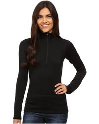 Arc'teryx - Rho Ar Zip Neck (black) Women's Clothing - Lyst