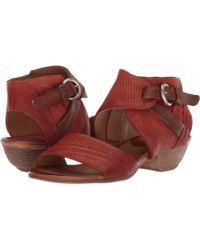 Miz Mooz - Chatham (olive) Women's Dress Sandals - Lyst