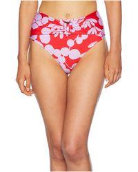 Trina Turk - Bali Blossoms High-waist Pant Bottom (midnight) Women's Swimwear - Lyst