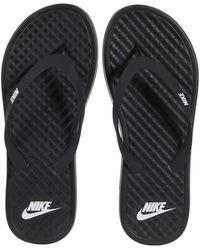 Nike Ondeck Flip-flop Shoes - Black