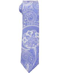 MICHAEL Michael Kors Two-color Bold Paisley - Blue
