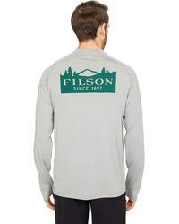 Filson Long Sleeve Barrier T-shirt - Gray