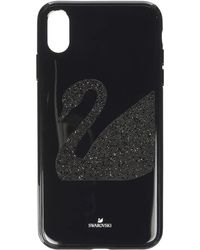 Swarovski - Swan Fabric Smartphone Case With Integrated Bumper, Iphone(r) Xr - Lyst