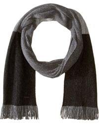 BOSS - Color Block Scarf (black) Scarves - Lyst