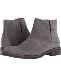 John Varvatos - Waverly Covered Chelsea (coal) Men's Shoes - Lyst