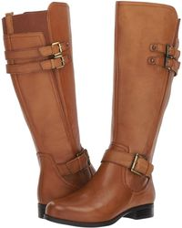 Naturalizer - Jessie Wide Calf (banana Bread Wide Calf Leather) Women's Boots - Lyst