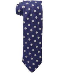 Eton of Sweden - Silk/wool Medallion Tie (purple) Ties - Lyst