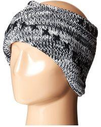 San Diego Hat Company Knh3441 Oversize Twist Knit Headband - Black
