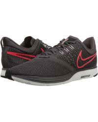 pretty nice 264d8 b6f3d Nike - Zoom Strike (thunder Grey bright Crimson black) Men s Shoes -