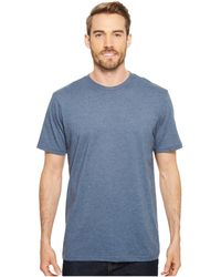 Prana - (r) Crew Tee (starling Green) Men's Short Sleeve Pullover - Lyst