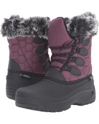 Tundra Boots - Gayle (black/charcoal) Women's Boots - Lyst
