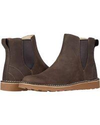 L.L. Bean Stonington Chelsea Leather - Brown