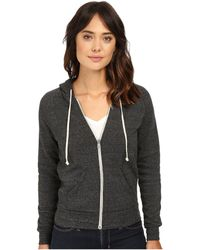 Alternative Apparel - Adrian Hoodie (eco Black) Women's Sweatshirt - Lyst