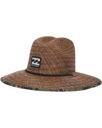 ff9bd8ac6 Billabong Tides Print Hat (orange) Traditional Hats for Men - Lyst