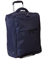 Lipault 0% Pliable 22 Upright Carry On Luggage - Blue