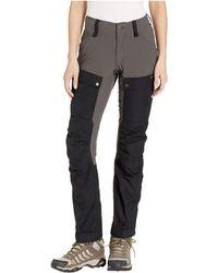 bester Verkauf schnelle Farbe Großhändler Fjallraven Synthetic Vidda Pro Trousers Curved (black/black ...