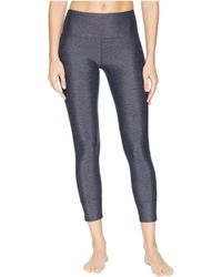Lorna Jane - Epic Core Ankle Biter Tights (deep Grey/black) Women's Casual Pants - Lyst