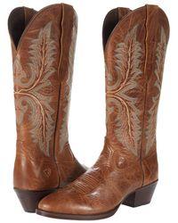 Ariat - Heritage Elastic Calf Boots - Lyst