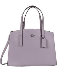 COACH - Polished Pebble Leather Charlie Carryall - Lyst