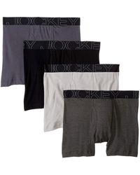 Jockey - Active Blend Boxer Brief 4-pack - Lyst