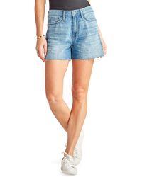 Sam Edelman Stiletto Shorts In Zariyah - Blue
