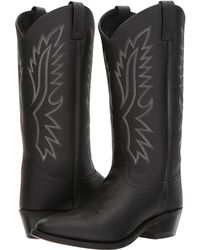 Old West Boots - Wyatt J Toe (tan Canyon) Cowboy Boots - Lyst