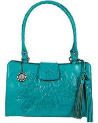 Patricia Nash Rienzo Satchel Satchel Handbags - Blue