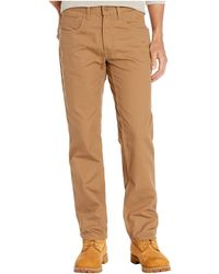 Timberland 8 Series Flex Canvas Work Pants Casual Pants - Brown