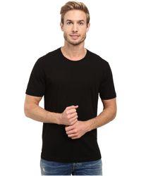 Agave - Agave Supima Vee Neck Short Sleeve Tee (black Iris Navy) Men's T Shirt - Lyst