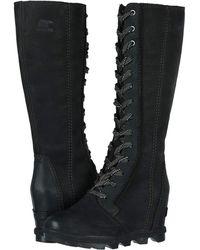 Sorel Joan Of Arctictm Wedge Ii Tall - Black