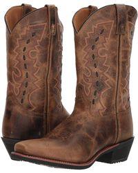 Laredo - Sandoval (tan) Cowboy Boots - Lyst