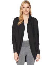 Jockey Active - Cocoon Wrap (oatmeal) Women's Sweater - Lyst