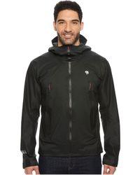 Mountain Hardwear - Quasartm Lite Ii Jacket (stealth Grey) Men's Coat - Lyst